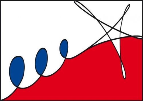 'Nueva Bandera Cubana', ilustración de El Sexto.